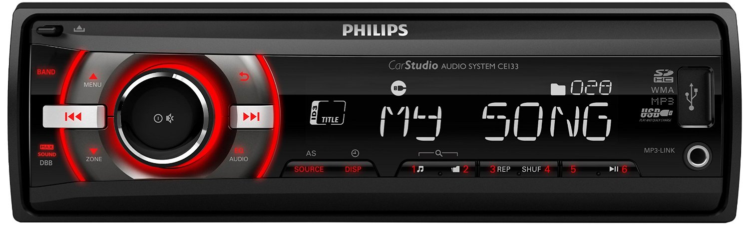 Philips CE133R auto-radio