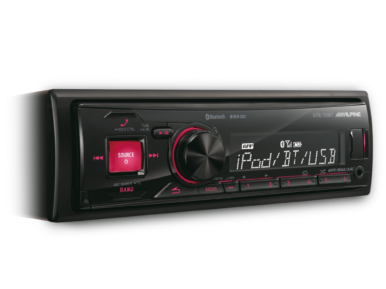 Alpine UTE 72BT auto-radio