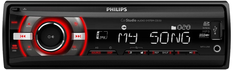 Philips CE133R auto-radio